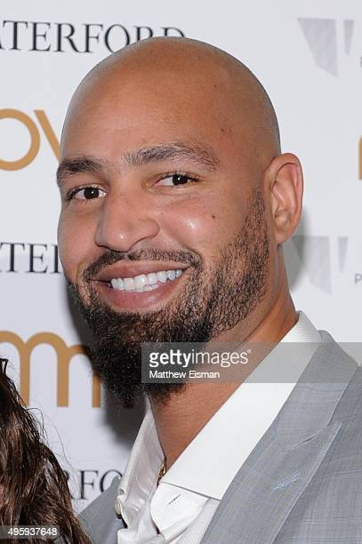 Jerramy Stevens attends Moves 2015 Power Women Awards Gala at India House Club on November 5 2015 in New York City