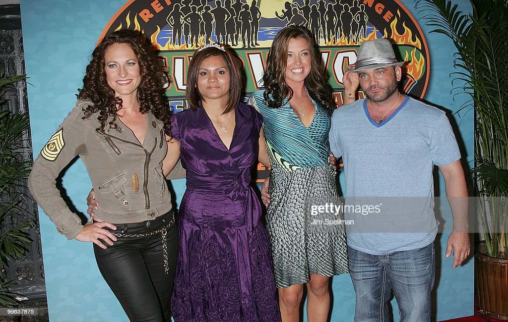 Jerri Manthey Sandra Diaz Twine Parvati Shallow And Russell Hantz Attend The