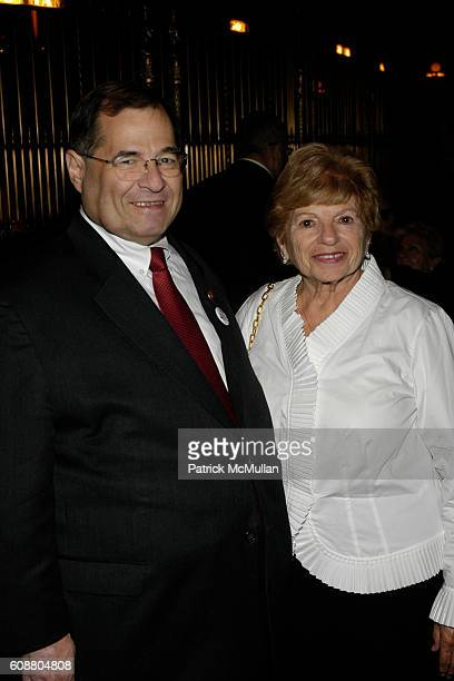 Jerrold Nadler and Jackie Fierstein attend 1st ANNUAL GOLDEN HEART AWARDS Celebration at Gotham Hall on October 29 2007 in New York City