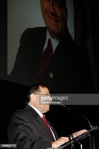 Jerrold Nadler attends 1st ANNUAL GOLDEN HEART AWARDS Celebration at Gotham Hall on October 29 2007 in New York City