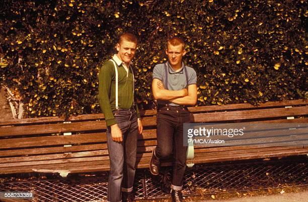 Jerry and Tony Peter Pan's Playground Brighton UK 1979