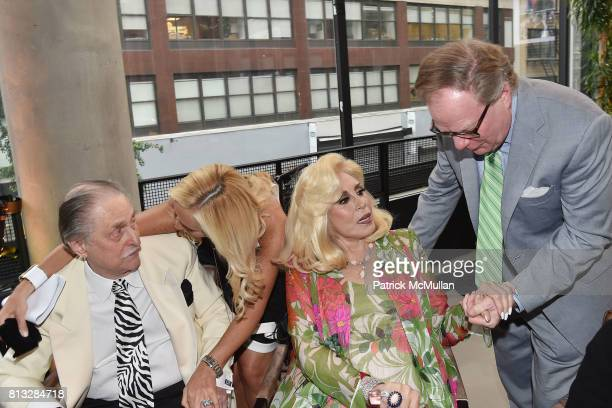 Jerry Bernheim Harriette Rose Katz and Christopher Carey attend The Chosen Few's Third Anniversary Hosted by Harriette Rose Katz at Second on July 11...