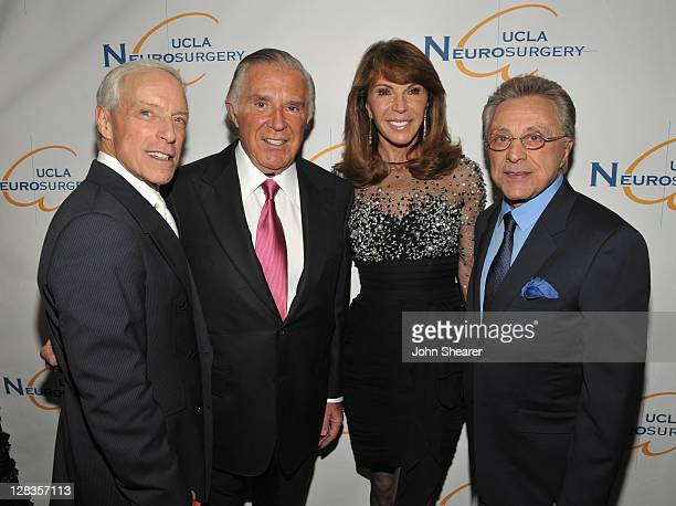 Jerry Blavat Visionary Award Winner Sidney Kimmel Caroline Kimmel and musician Frankie Valli attend the Visionary Ball presented by UCLA Neurosurgery...