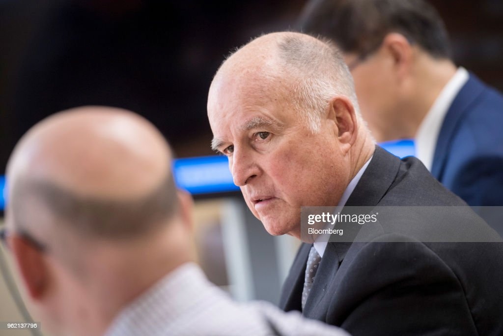 California Governor Jerry Brown Interview