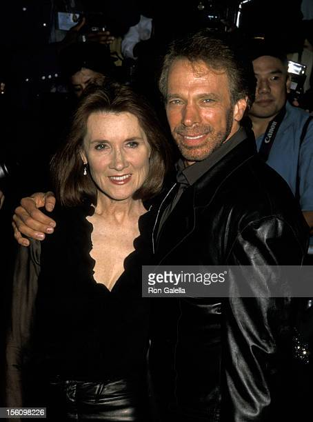 Jerry Bruckheimer and Linda Balahourtis during 'Coyote Ugly' New York Premiere at Ziegfeld Theatre in New York City, New York, United States.