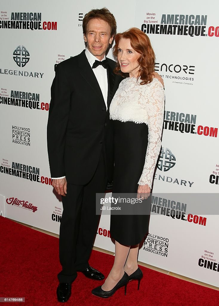 Jerry Bruckheimer and wife attend the 30th Annual American Cinematheque Awards Gala at The Beverly Hilton Hotel on October 14, 2016 in Beverly Hills, California