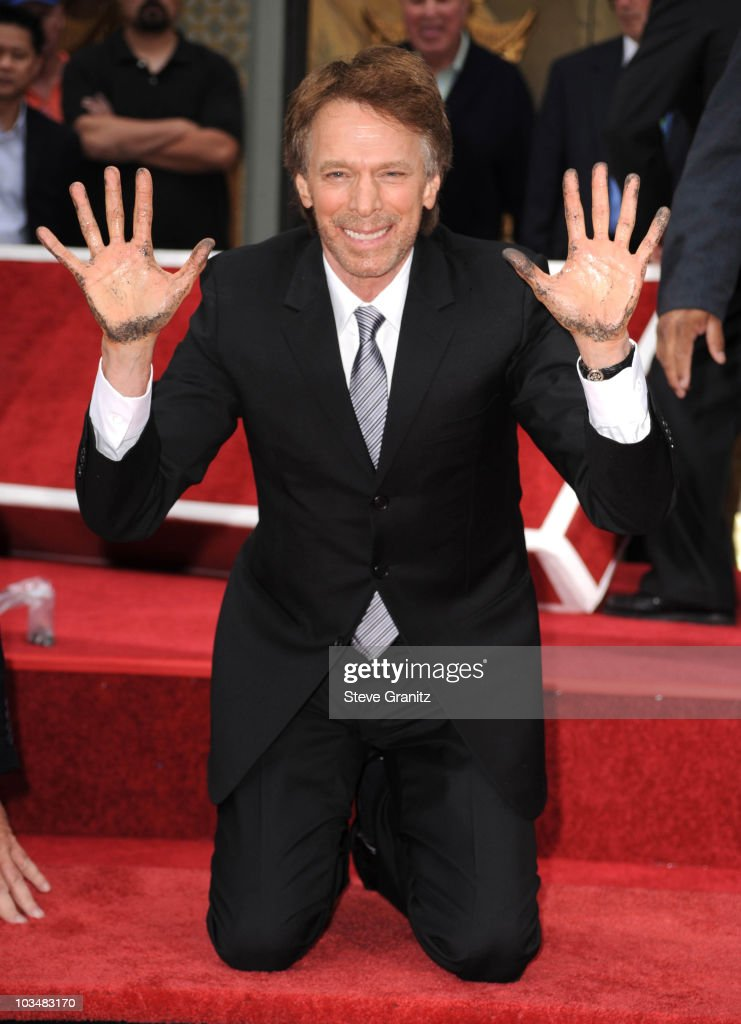 Jerry Bruckheimer attends the Jerry Bruckheimer Hand And Footprint Ceremony at Grauman's Chinese Theatre on May 17, 2010 in Hollywood, California.