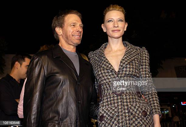 """Jerry Bruckheimer, Producer and Cate Blanchett during """"Veronica Guerin"""" - Los Angeles Premiere - Red Carpet at The Bruin Theater in Westwood,..."""