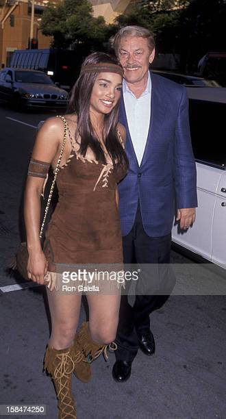 Jerry Buss attends the premiere of Love Stinks on August 11 1999 at Mann Festival Theater in Westwood California