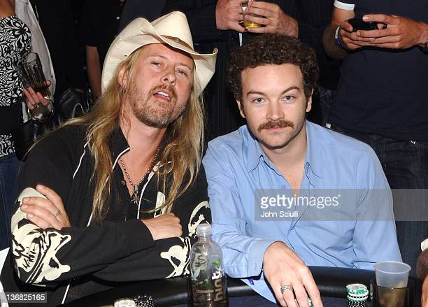 Jerry Cantrell and Danny Masterson during Ultimatebetcom Kari Feinstein and Mike McGuiness Host Celebrity Poker Tournament to Honor Clifton Collins...