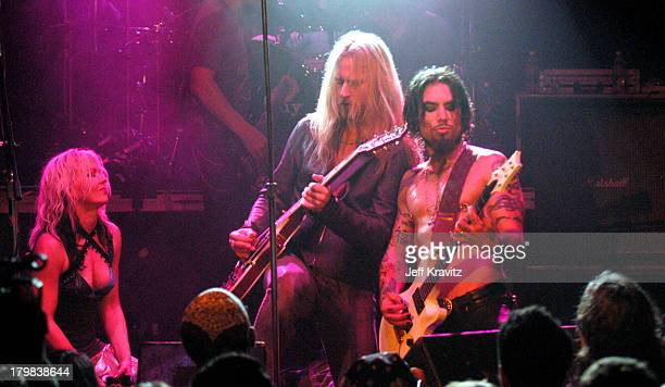 Jerry Cantrell and Dave Navarro during Camp Freddy Benefit Concert for South East Asia Tsunami Relief at Key Club in Hollywood California United...