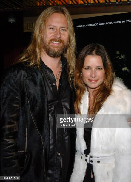 Jerry Cantrell and Shawnee Smith during Saw Los Angeles Cast and Crew Screening Arrivals at Mann's Chinese 6 in Hollywood California United States