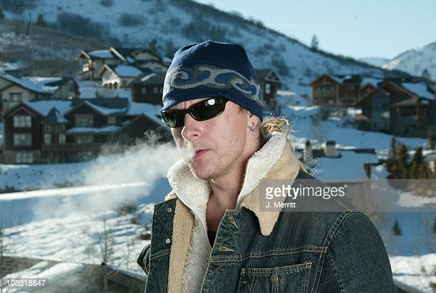 Jerry Cantrell and The North Face during 2004 Sundance Film Festival Hot House Day 7 at Deer Valley Private Residence in Deer Valley Utah United...