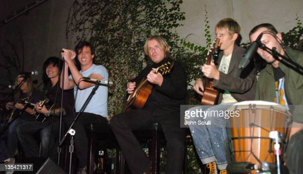 Jerry Cantrell Billy Morrison Donovan Leitch Billy Duffy Chris Chaney and Greg Ellis