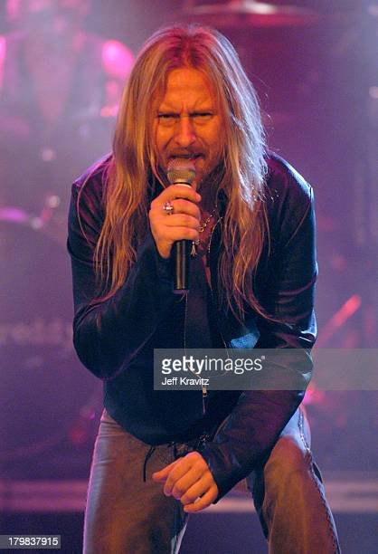 Jerry Cantrell during Camp Freddy Benefit Concert for South East Asia Tsunami Relief at Key Club in Hollywood California United States