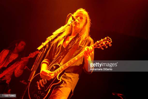 Jerry Cantrell during Jerry Cantrell Live In Concert at UNO Lakefron Arena in New Orleans Louisiana United States