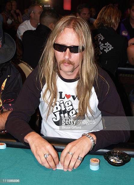 Jerry Cantrell during Vegas Rock Star Poker Tournement 2005 August 26 2005 The Palms Hotel and Casino Resort Las Vegas Nevada at The Palms Hotel and...