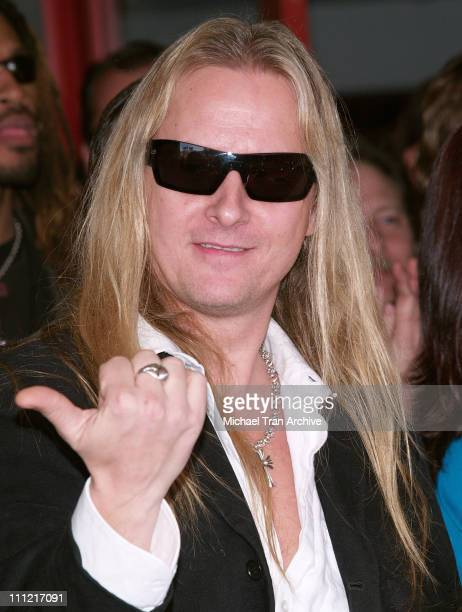 Jerry Cantrell during Zakk Wylde Inducted into Hollywood's Rockwalk at Hollywood's Rock Walk in Hollywood California United States
