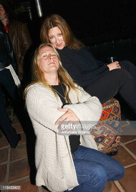 Jerry Cantrell of Alice in Chains and Guest during Jerry Cantrell's Birthday Party in Los Angeles March 18 2006 at Private Residence in Los Angeles...