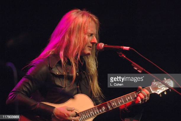 Jerry Cantrell of Alice in Chains during 2nd Annual MusiCares MAP Fund Benefit Concert Honoring James Hetfield and Bill Silva at Henry Fonda Music...