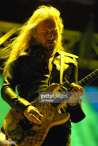 Jerry Cantrell of Alice in Chains during KROQ Inland Invasion 2006 at Hyundai Pavilion at Glenn Helen in San Bernardino California United States