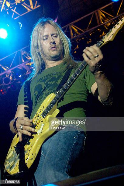 Jerry Cantrell of Alice in Chains during Musikfest 2006 August 5 2006 at Riverplace Stage in Bethlehem PA United States