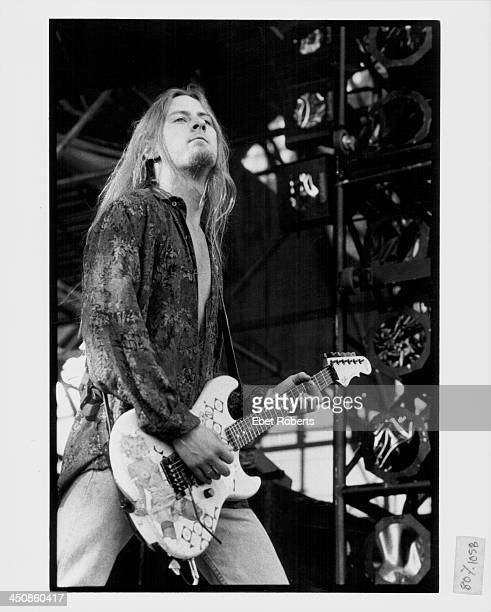 Jerry Cantrell of Alice in Chains on stage 1993