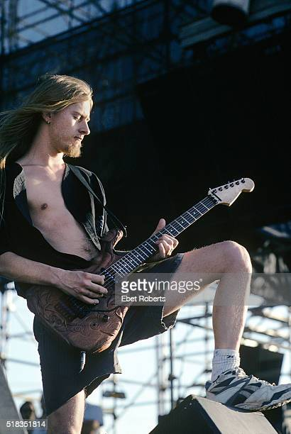 Jerry Cantrell of Alice In Chains performing at Lollapalooza in Portland Oregon on June 20 1993
