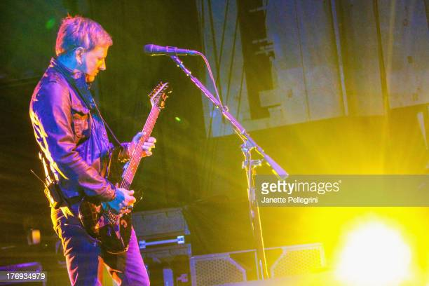 Jerry Cantrell of Alice in Chains performs during the 2013 Rockstar Energy UPROAR Festival at Nikon at Jones Beach Theater on August 18 2013 in...