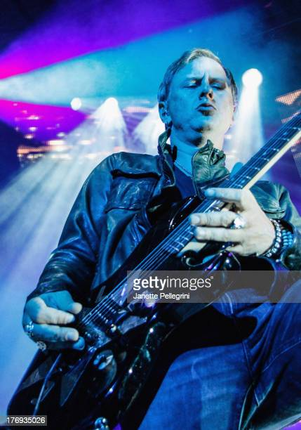Jerry Cantrell of Alice in Chains performs during the 2013 Rockstar Energy UPROAR Festival at Nikon at Jones Beach Theater on August 18, 2013 in...