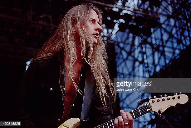 Jerry Cantrell of American rock band Alice in Chains on stage at Lollapalooza USA 1993