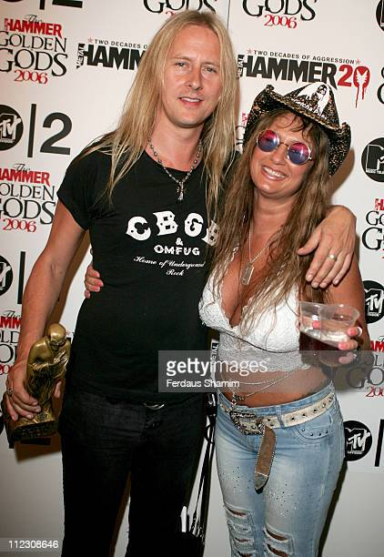 Jerry Cantrell Riff Lord during Metal Hammer Golden Gods Awards 2006 Press Room at KOKO in London Great Britain