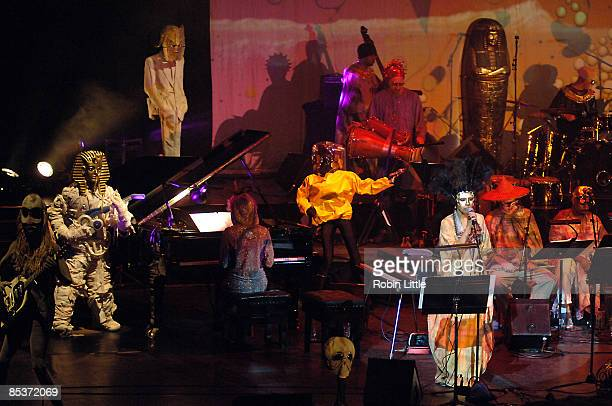 Jerry Dammers' Spatial AKA Orchestra perform at Barbican on March 10 2009 in London England