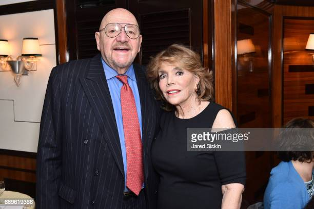 Jerry Della Femina and Judy Licht attend Dinner for Dee Dee Paul Sorvino's book 'Pinot Pasta and Parties' at Harry Cipriani on April 17 2017 in New...