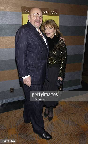 Jerry Della Femina and Judy Licht during 20th Annual Academy of the Arts Lifetime Achievement Awards Gala Arrivals at Rainbow Room in New York City...