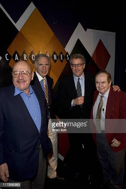 Jerry Della Femina Carl Icahn David Moore and Joe Franklin at David Moore's Funny Business Show at the 2nd Annual NY Comedy Festival at Caroline's on...