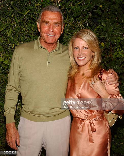 Jerry Douglas and wife Kym during SOAPnet Fall 2004 Launch Party at Falcon in Hollywood California United States