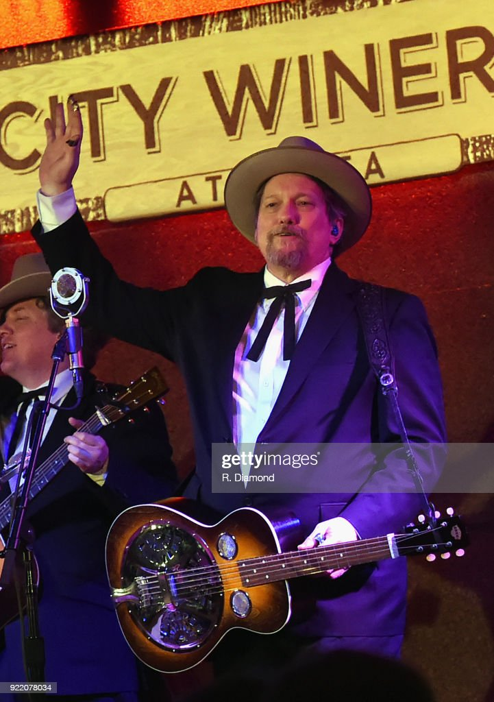 Jerry Douglas of Earls of Leicester performs at City Winery on February 20, 2018 in Atlanta, Georgia.