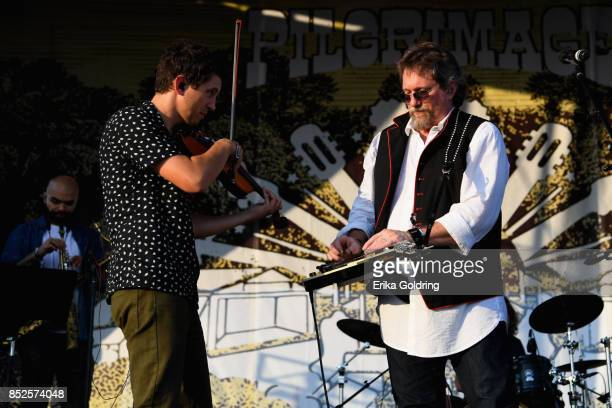 Jerry Douglas performs during the Pilgrimage Music Cultural Festival 2017 on September 23 2017 in Franklin Tennessee