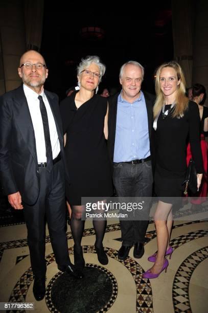 Jerry Doyle Andrea Cochran Barry Richards and Melissa Barrett Rhodes attend the CooperHewitt National Design Museum 2010 National Design Awards Gala...