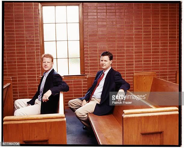 Jerry Falwell Jr and Jonathan Falwell