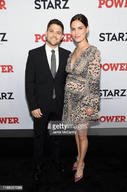 Jerry Ferrara and Breanne Racano at STARZ Madison Square Garden Power Season 6 Red Carpet Premiere Concert and Party on August 20 2019 in New York...