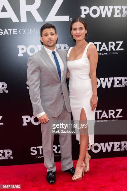 Jerry Ferrara and Breanne Racano attends the Power Season 5 Premiere at Radio City Music Hall on June 28 2018 in New York City