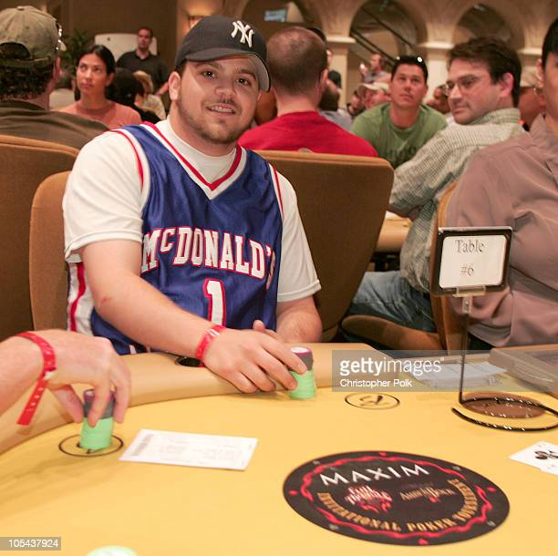 """Jerry Ferrara and guest during """"Maxim's All Access Weekend at Borgata Hotel Casino & Spa at Borgata Hotel Casino & Spa in Atlantic City, New Jersey,..."""