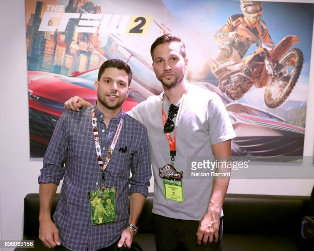 Jerry Ferrara and Logan MarshallGreen attend E3 2017 at Los Angeles Convention Center on June 14 2017 in Los Angeles California