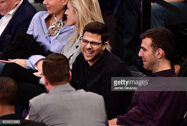 Jerry Ferrara attends New York Knicks vs Dallas Mavericks game at Madison Square Garden on November 14 2016 in New York City