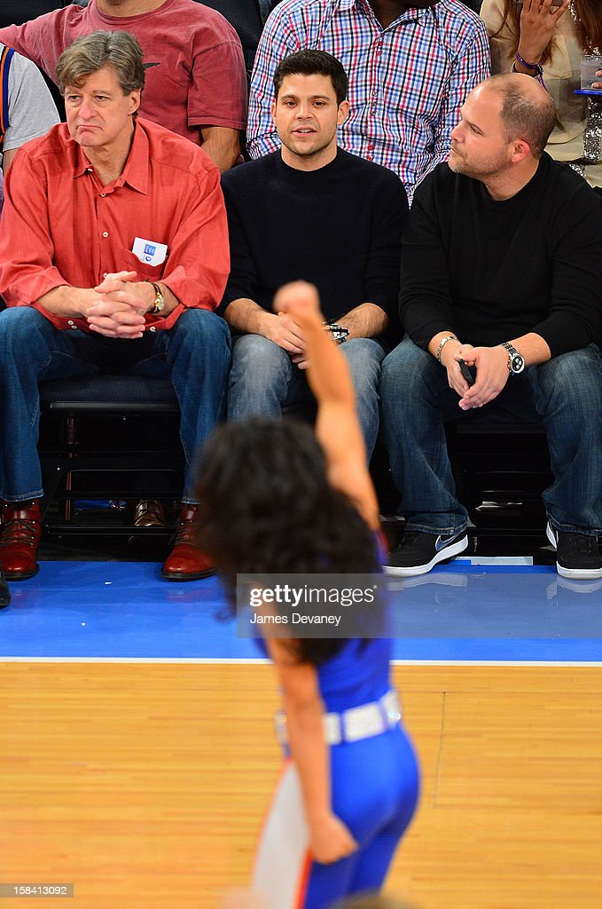 Jerry Ferrara attends the Cleveland Cavaliers vs New York Knicks game at Madison Square Garden on December 15, 2012 in New York City.