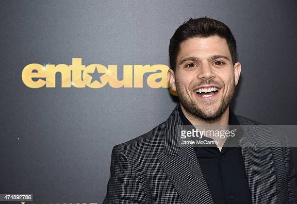 Jerry Ferrara attends the Entourage New York Premiere at Paris Theater on May 27 2015 in New York City