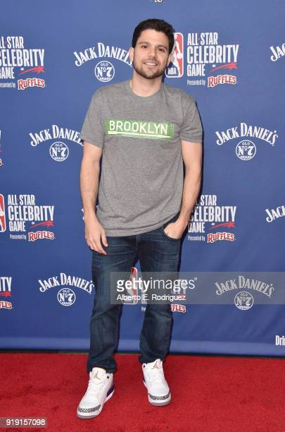Jerry Ferrara attends the NBA AllStar Celebrity Game 2018 at Verizon Up Arena at LACC on February 16 2018 in Los Angeles California