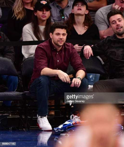 Jerry Ferrara attends the New York Knicks Vs Philadelphia 76ers game at Madison Square Garden on December 25 2017 in New York City
